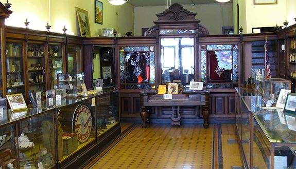 Clay County Museum interior