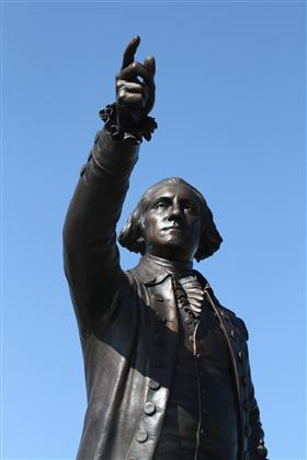 George Washington Sculpture 03