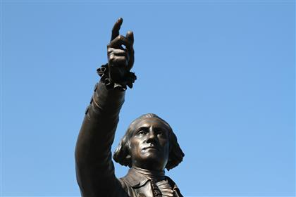 George Washington Sculpture 07