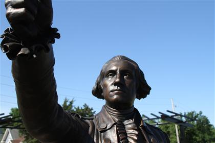 George Washington Sculpture 12