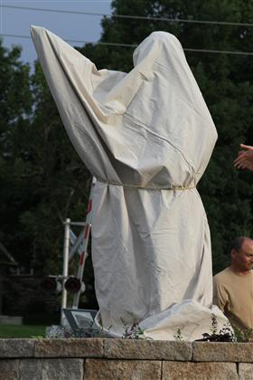 George Washington Sculpture Unveiling 01